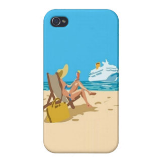 Vacation Girl - iPhone 4 Case