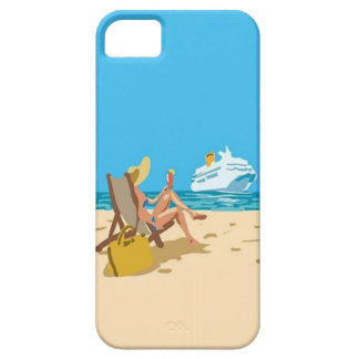 Vacation Girl - iPhone 5 Case