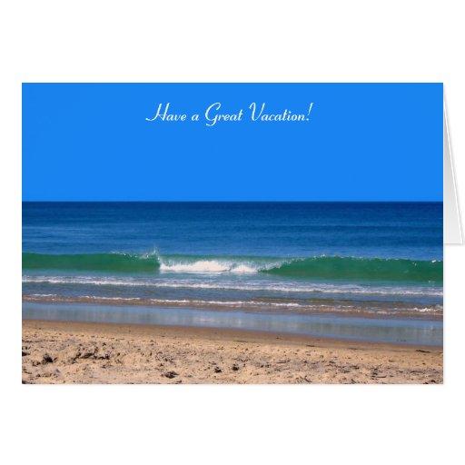 Vacation Greetings Card