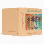 Vacation  Guest Book - binder