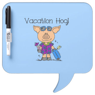 Vacation Hog Dry-Erase Whiteboard