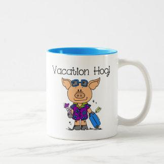 Vacation Hog Mug