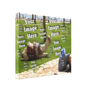 Vacation Image Template Canvas Print