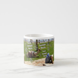 Vacation Image Template Espresso Cup