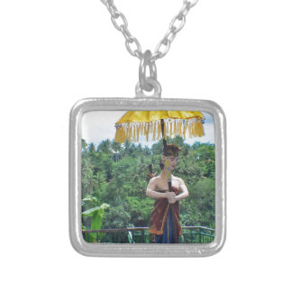 Vacation in Bali Silver Plated Necklace