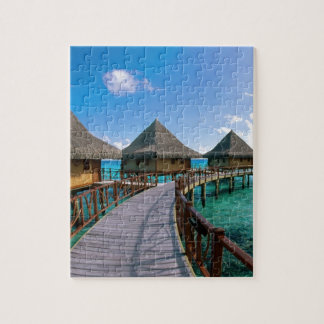 Vacation In Paradise Jigsaw Puzzle