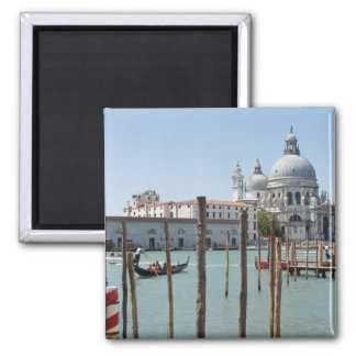 Vacation in Venice landscape 2 Inch Square Magnet