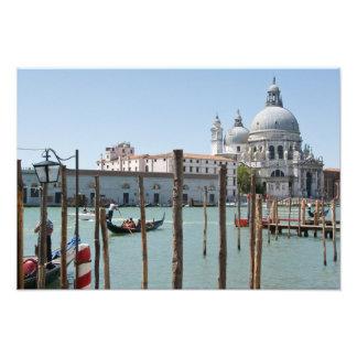 Vacation in Venice landscape Photo Print