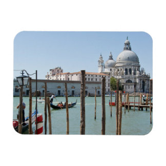 Vacation in Venice landscape Rectangular Photo Magnet