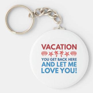 Vacation Keychain
