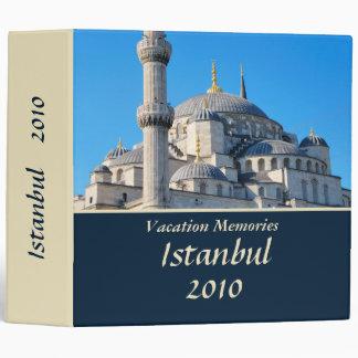 Vacation memories Istanbul 2'' Binder