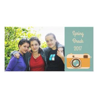 Vacation Memories Snapshot Photo Card
