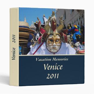 Vacation memories Venice 1'' Binder