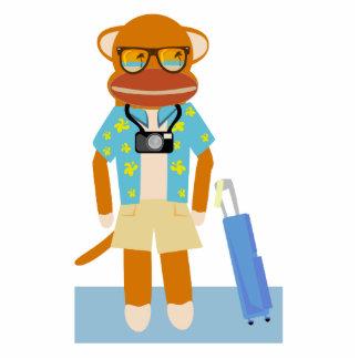 Vacation Monkey Sculpture
