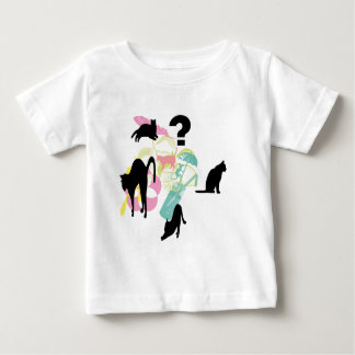 Vacation of cat infant t-shirt