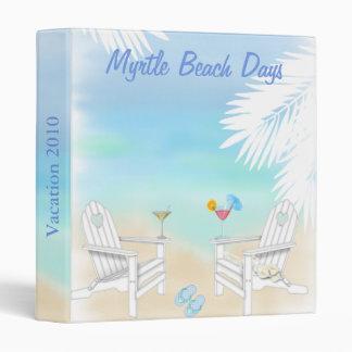 Vacation Photo Album Vinyl Binders