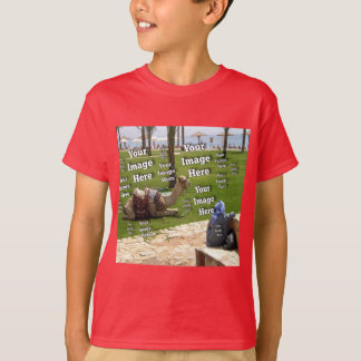 Vacation Photo Template T-Shirt