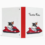 Vacation Photos Jack Russell Terrier binder