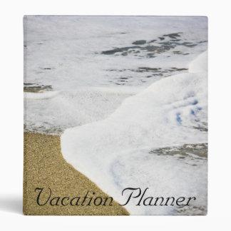 Vacation Planner 3 Ring Binder