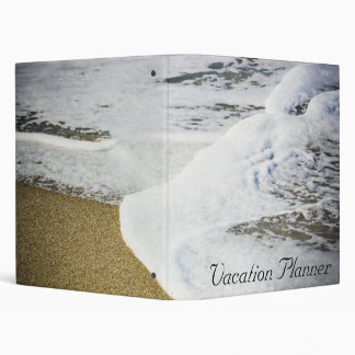 Vacation Planner 3 Ring Binders