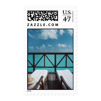 Vacation Postage Stamp