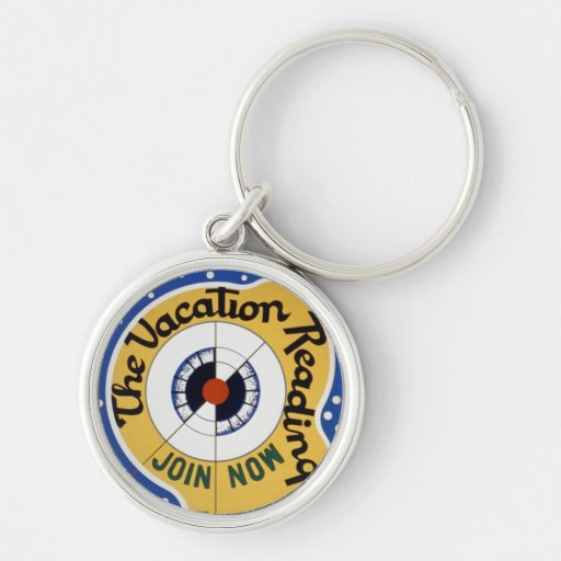 Vacation Reading Club Key Chains