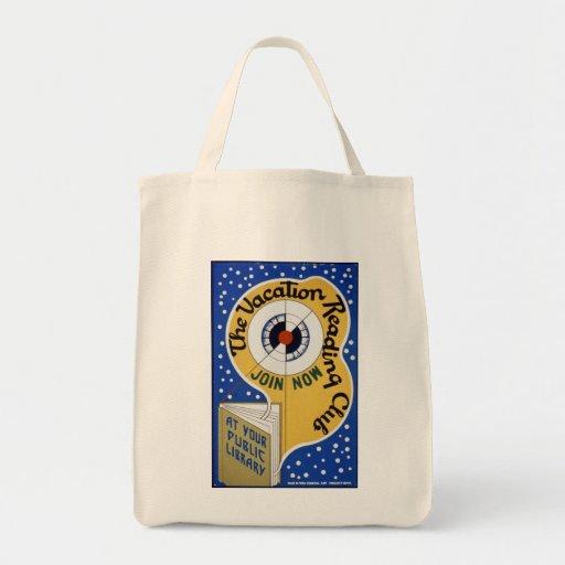 Vacation Reading Club Tote Tote Bag
