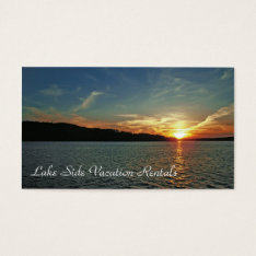 Vacation Rental Business Card at Zazzle