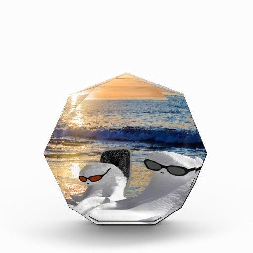 Vacation Retirees Acrylic Award