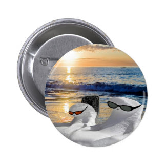Vacation Retirees Pinback Button