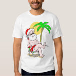 Vacation Santa T Shirt