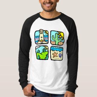 Vacation Spots T-Shirt