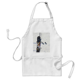Vacation Subject Adult Apron
