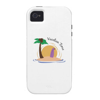 Vacation Time iPhone 4 Cases
