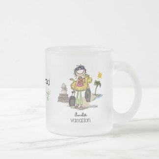Vacation Time - Girls Coffee Mugs