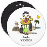 Vacation Time - Girls Pin