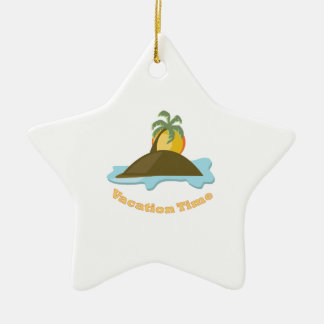 Vacation Time Ornament