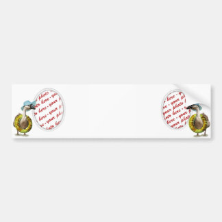 Vacation Time ! Photo Frame Bumper Sticker