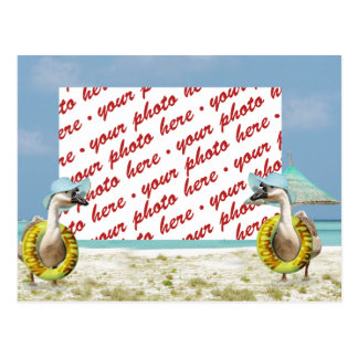 Vacation Time ! Photo Frame Postcard