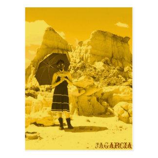 Vacation to Mars Postcard