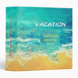 Vacation Travel Binder Photo Album
