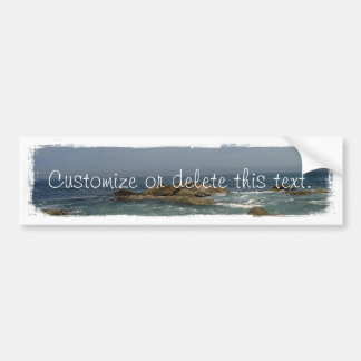 Vacation View; Customizable Bumper Stickers