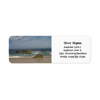 Vacation View Label