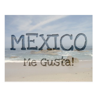 Vacation View; Mexico Souvenir Post Cards