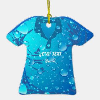 Vacation Wet T-Shirt Ornament