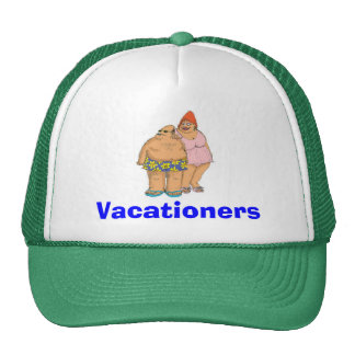 Vacationers/green Trucker Hat