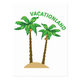 Vacationland Postcard