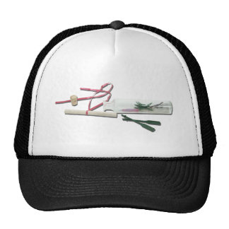 VacationNotesInBottle041412.png Trucker Hat