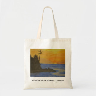 Vacation's Last Sunset - Curacao Bag