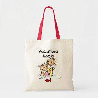Vacations Rock T-shirts and gifts Tote Bag